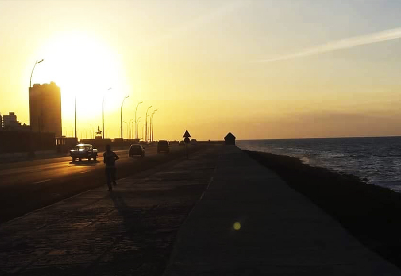 Sunset Malecón